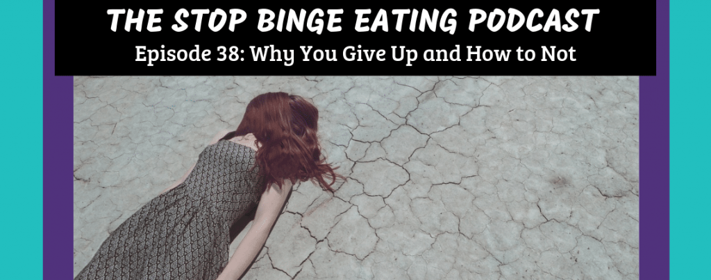 Ep #38: Why You Give Up and How to Not